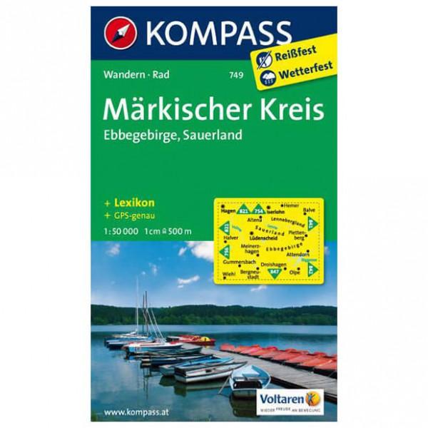 Kompass - Märkischer Kreis - Wanderkarte