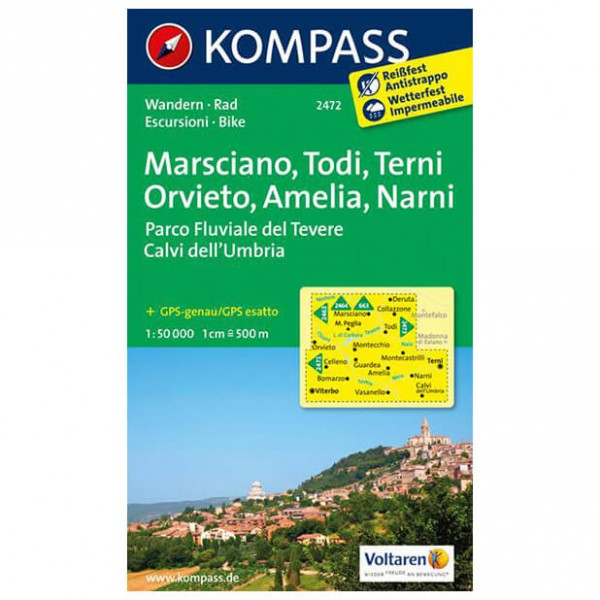 Kompass - Marsciano - Hiking Maps