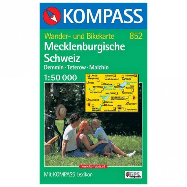Kompass - Mecklenburgische Schweiz-Demmin-Teterow-Malchin - Hiking map