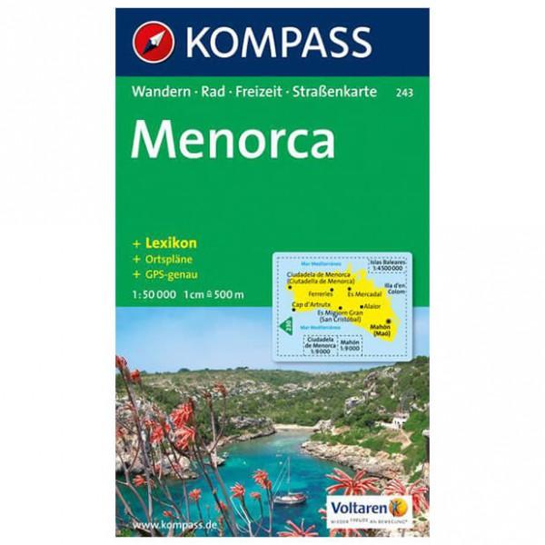 Kompass - Menorca - Wanderkarte