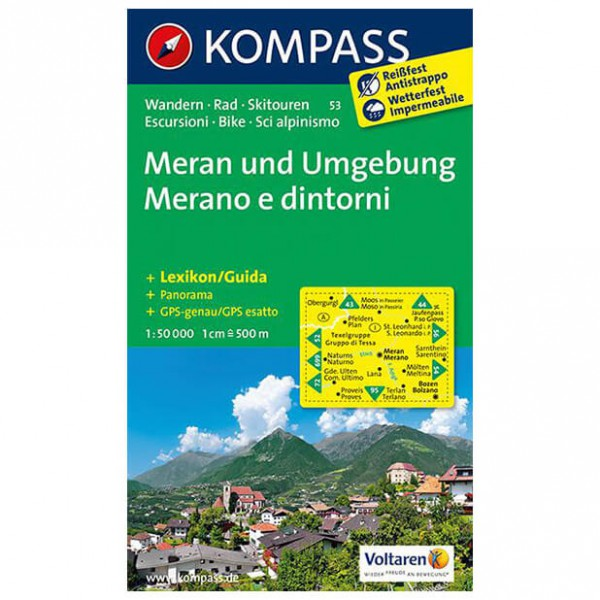 Kompass - Meran und Umgebung /Merano e dintorni