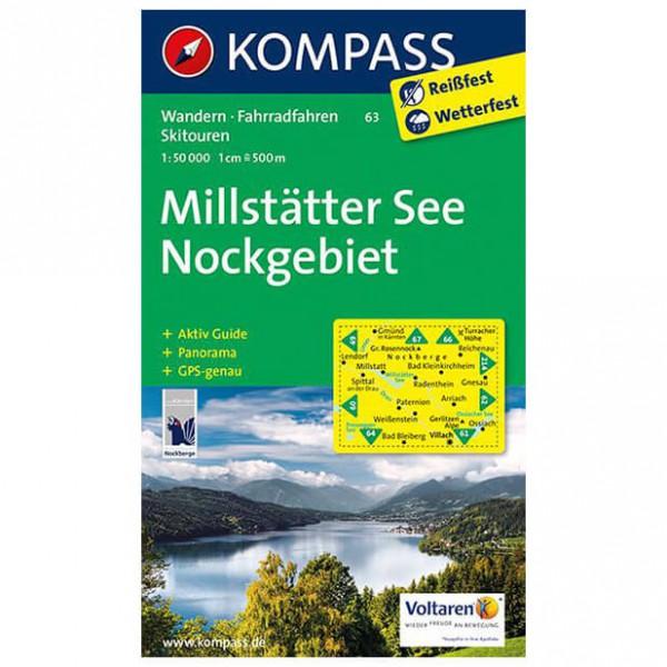 Kompass - Millstätter See - Nockgebiet - Wanderkarte