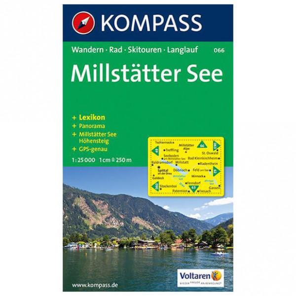 Kompass - Millstätter See - Wanderkarte