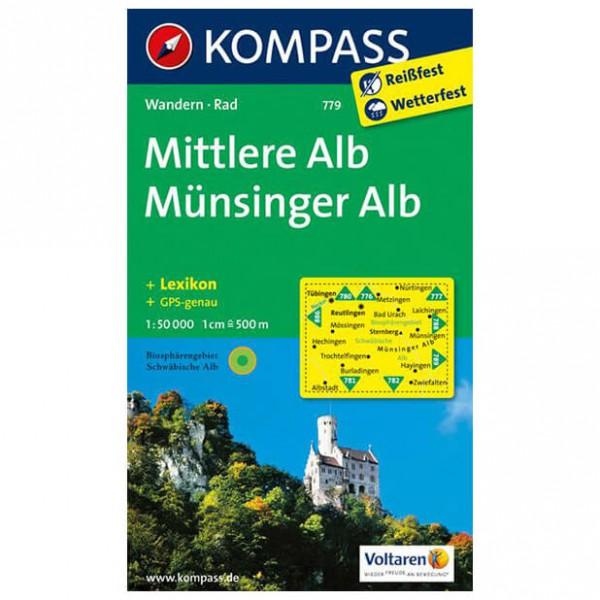 Kompass - Mittlere Alb - Mapa de senderos