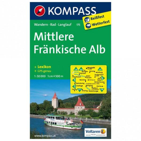 Kompass - Mittlere Fränkische Alb - Hiking Maps