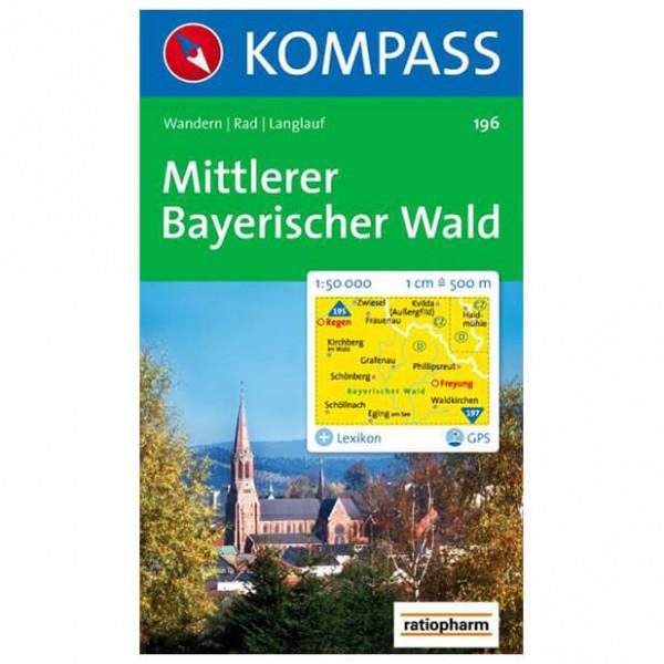 Kompass - Mittlerer Bayerischer Wald - Cartes de randonnée