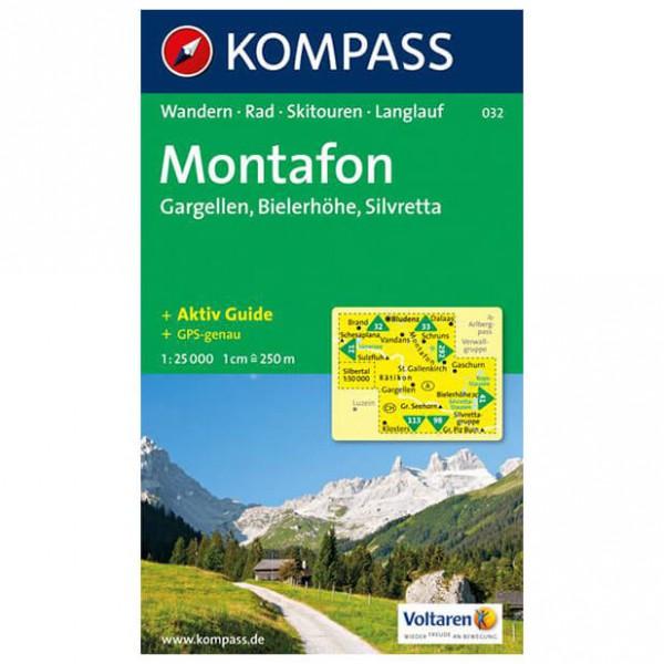 Kompass - Montafon - Wandelkaarten