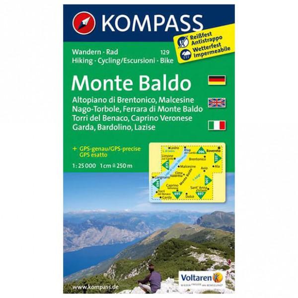 Kompass - Monte Baldo - Vandringskartor
