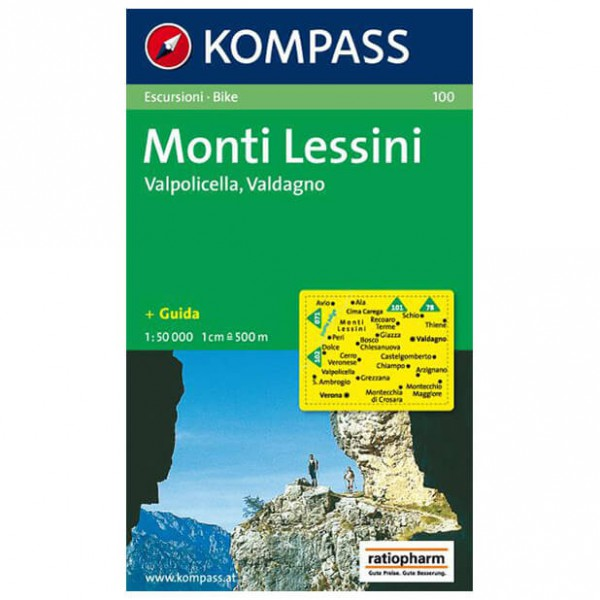 Kompass - Monti Lessini - Hiking Maps