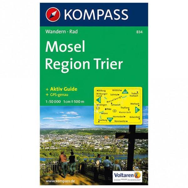 Kompass - Mosel - Cartes de randonnée