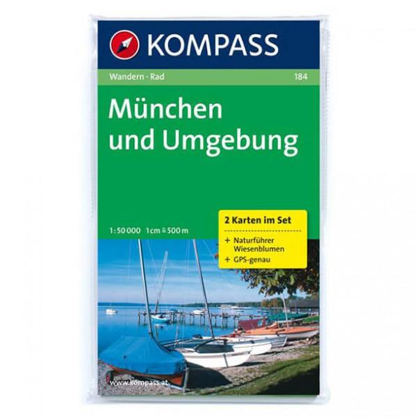 Kompass - München und Umgebung - Cartes de randonnée