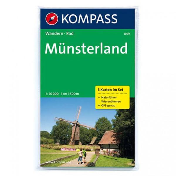 Kompass - Münsterland - Wandelkaarten