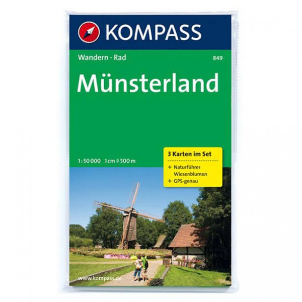 Kompass - Münsterland - Wanderkarte