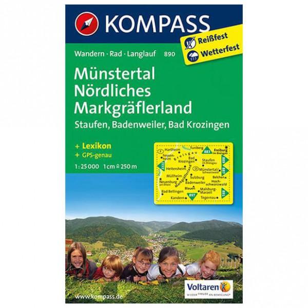 Kompass - Münstertal - Mapa de senderos