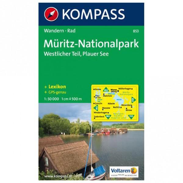 Kompass - Müritz-Nationalpark Westlicher Teil - Hiking Maps