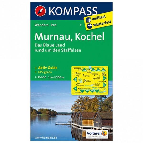 Kompass - Murnau - Wandelkaart