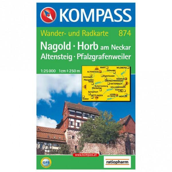 Nagold - Hiking map
