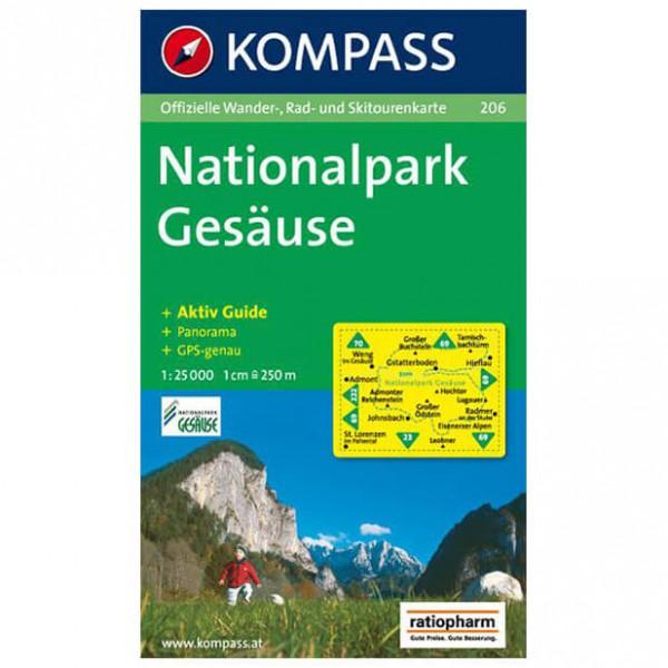 Kompass - Nationalpark Gesäuse - Carte de randonnée