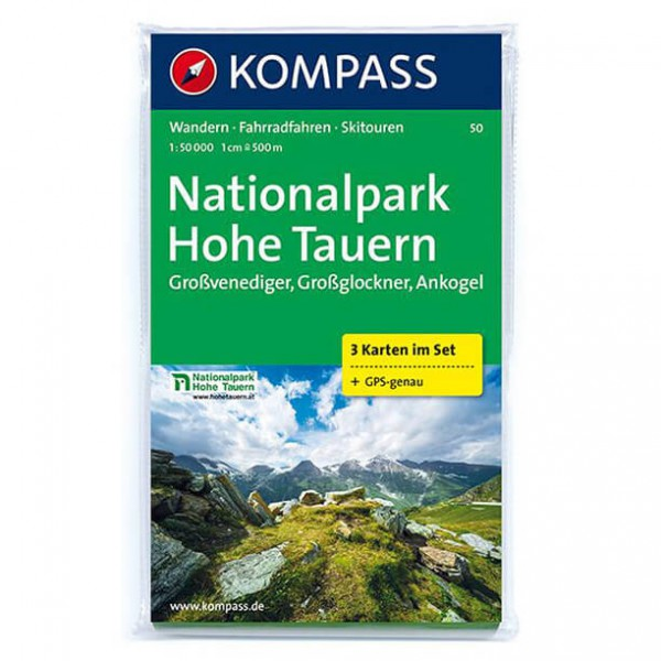Kompass - Nationalpark Hohe Tauern - Wandelkaarten