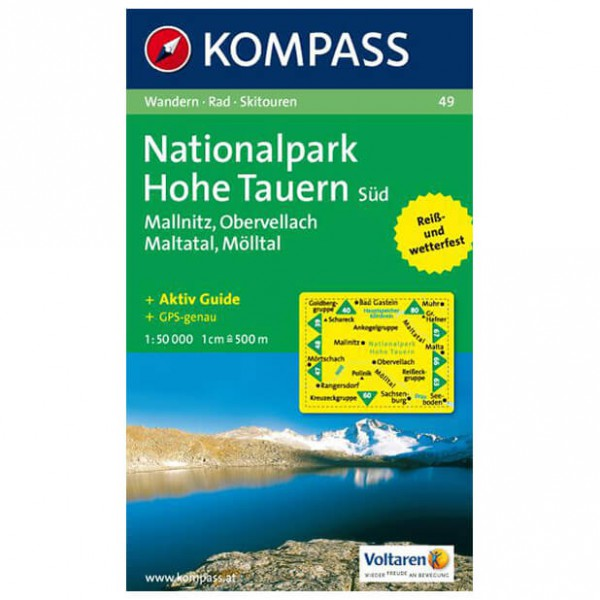 Kompass - Nationalpark Hohe Tauern Süd - Vaelluskartat
