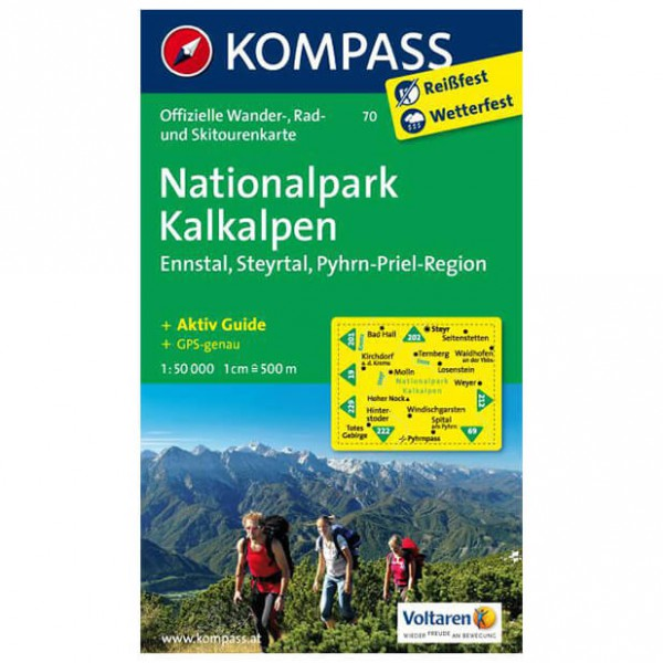 Kompass - Nationalpark Kalkalpen - Vaelluskartat