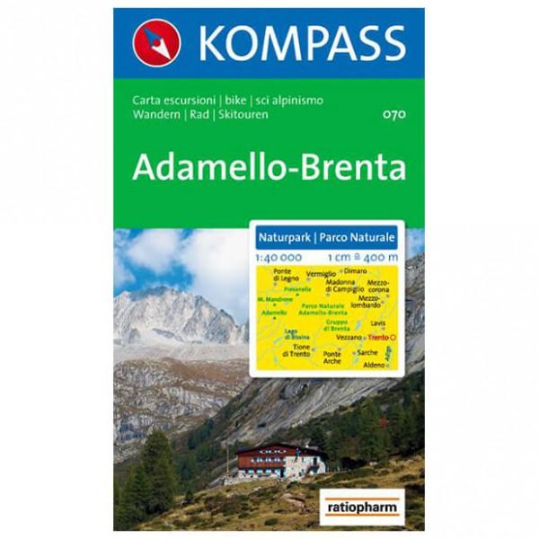Kompass - Naturpark Adamello-Brenta - Wanderkarte