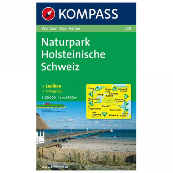 Kompass - Naturpark Holsteinische Schweiz - Wandelkaarten