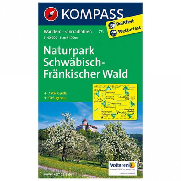 Kompass - Naturpark Schwäbisch-Fränkischer Wald - Mapa de senderos