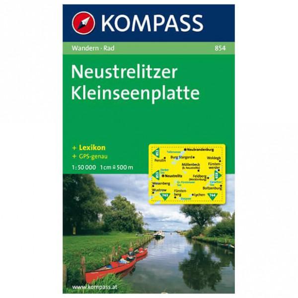 Kompass - Neustrelitzer Kleinseenplatte - Wanderkarte