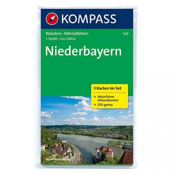 Kompass - Niederbayern - Hiking Maps