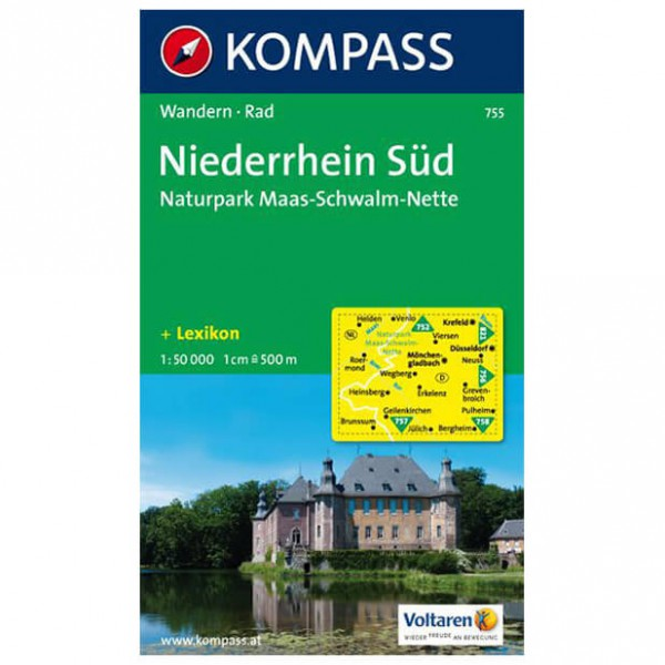 Kompass - Niederrhein Süd - Vaelluskartat
