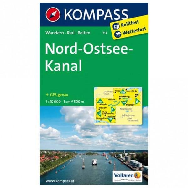 Kompass - Nord - Vandrekort