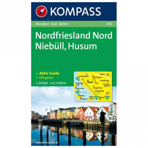 Kompass - Nordfriesland Nord - Hiking Maps