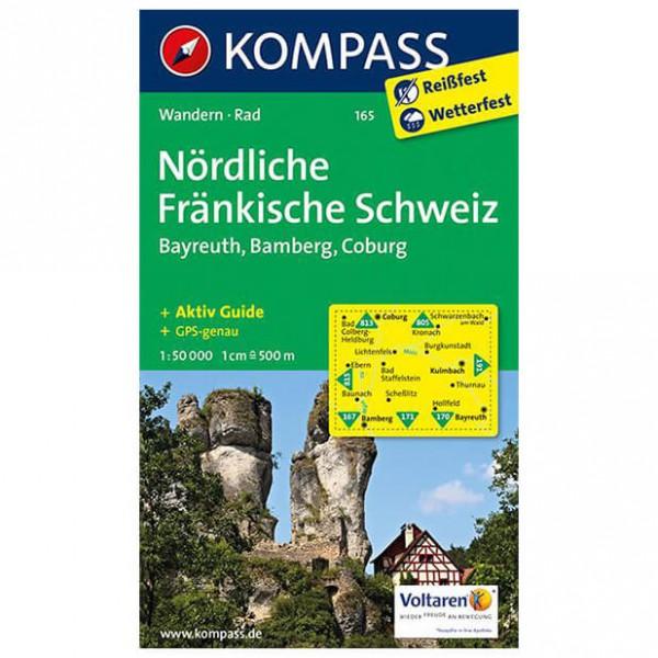 Kompass - Nördliche Fränkische Schweiz - Vandrekort