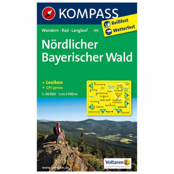 Kompass - Nördlicher Bayerischer Wald - Hiking Maps