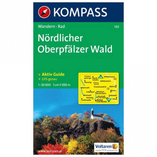 Kompass - Nördlicher Oberpfälzer Wald - Mapa de senderos