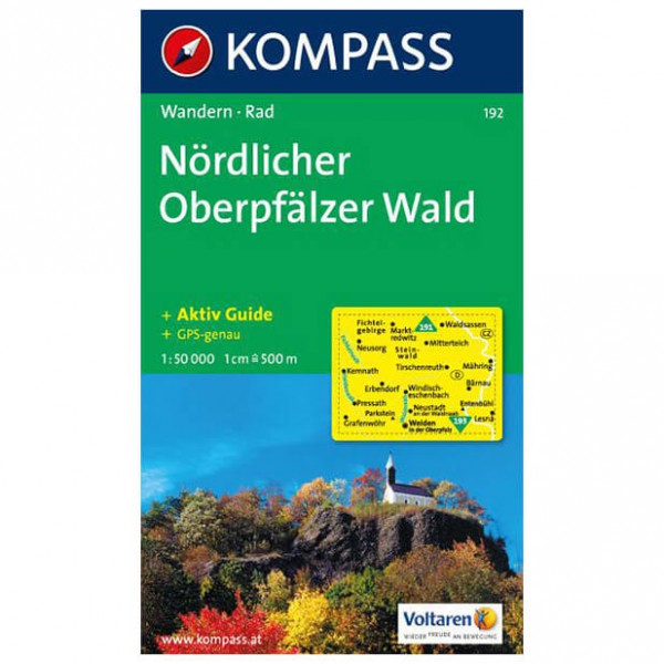 Kompass - Nördlicher Oberpfälzer Wald - Wanderkarte