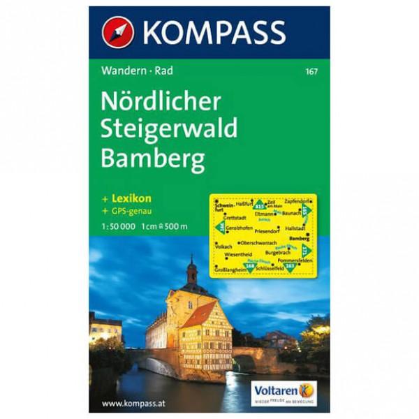 Kompass - Nördlicher Steigerwald - Wandelkaarten
