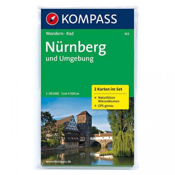 Kompass - Nürnberg und Umgebung - Wandelkaarten