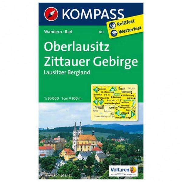 Kompass - Oberlausitz - Wandelkaarten
