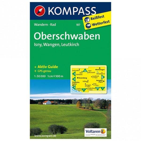 Kompass - Oberschwaben - Wanderkarte