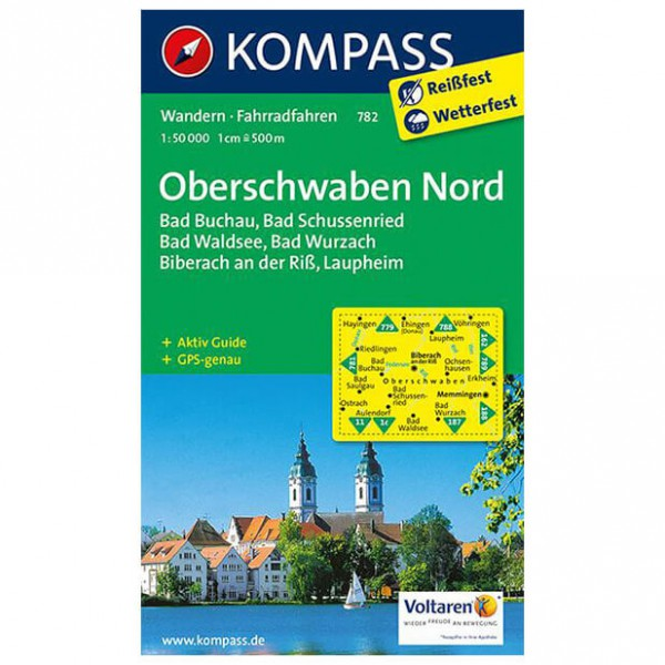Kompass - Oberschwaben Nord - Hiking Maps