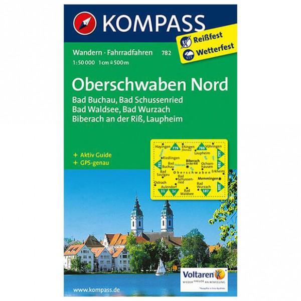 Kompass - Oberschwaben Nord - Vaelluskartat