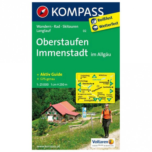 Kompass - Oberstaufen - Vaelluskartat