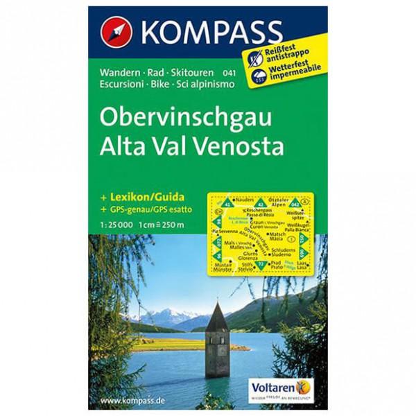 Kompass - Obervinschgau - Wandelkaarten