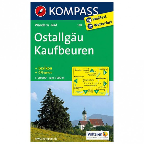Kompass - Ostallgäu - Hiking Maps