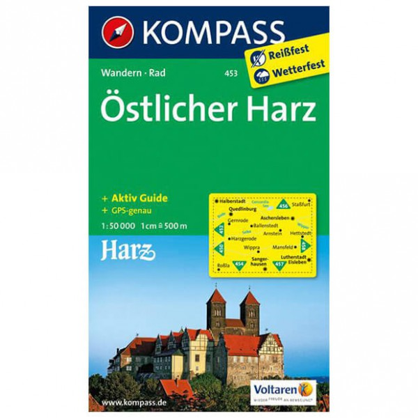 Kompass - Östlicher Harz - Hiking Maps