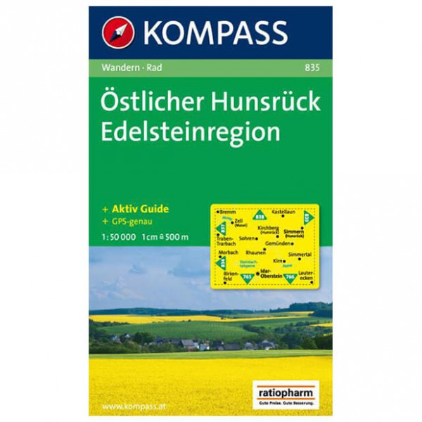 Kompass - Östlicher Hunsrück - Wandelkaart