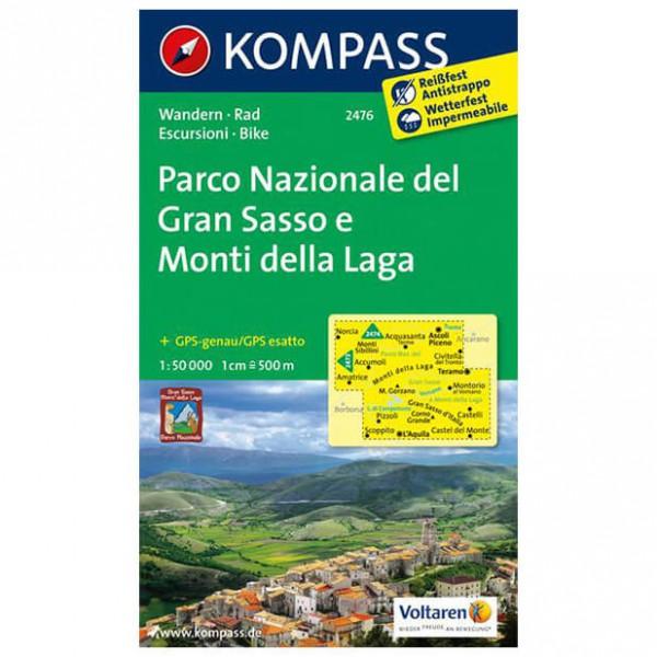 Kompass - Parco Nazionale del Gran Sasso e Monti della Laga