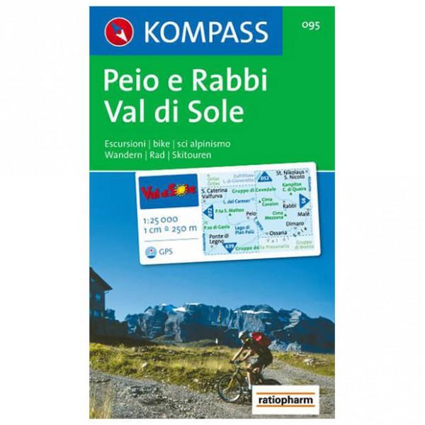 Kompass - Peio e Rabbi - Wandelkaarten